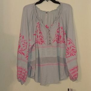 Free People Blouse~SZ Md~NWT